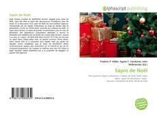 Buchcover von Sapin de Noël