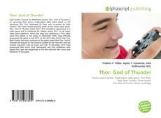 Portada del libro de Thor: God of Thunder