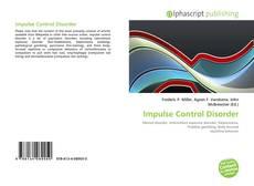 Impulse Control Disorder kitap kapağı