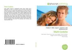 Matt Cedeño kitap kapağı