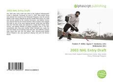 Buchcover von 2003 NHL Entry Draft