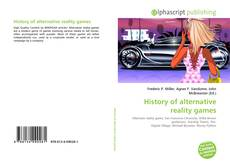 Bookcover of History of alternative reality games