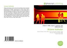 Обложка Ariane Schluter