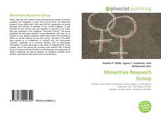Bookcover of Minorities Research Group