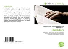 Joseph Kara kitap kapağı