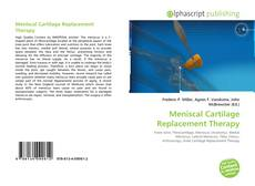 Обложка Meniscal Cartilage Replacement Therapy