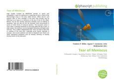 Portada del libro de Tear of Meniscus