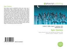 Couverture de Epic Comics