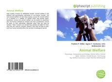Bookcover of Animal Welfare