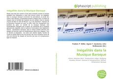 Couverture de Inégalités dans la Musique Baroque