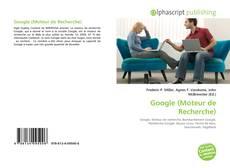 Buchcover von Google (Moteur de Recherche)