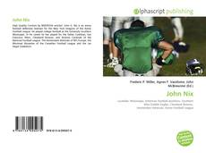 Capa do livro de John Nix