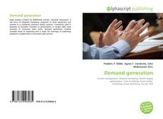 Bookcover of Demand generation