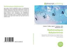 Couverture de Mathématiques Babyloniennes