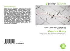 Bookcover of Omnicom Group