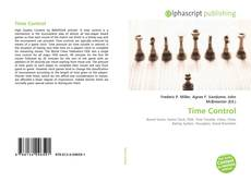Bookcover of Time Control