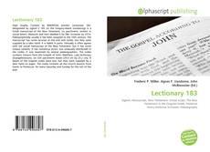 Lectionary 183的封面