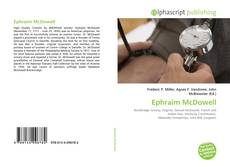 Bookcover of Ephraim McDowell