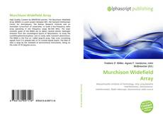 Buchcover von Murchison Widefield Array