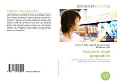 Portada del libro de Customer value proposition