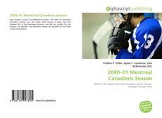 Couverture de 2000–01 Montreal Canadiens Season