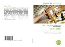 Buchcover von Game Clock