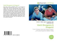 Bookcover of Giant (Dungeons