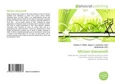 Bookcover of Miriam Giovanelli