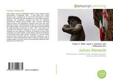 Обложка Juliusz Słowacki
