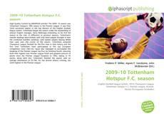 Portada del libro de 2009–10 Tottenham Hotspur F.C. season