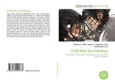 Capa do livro de Cold War (Ice hockey)
