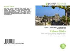 Ephrem Mtsire kitap kapağı