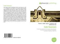 Cole Swensen的封面