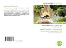 Versification Française kitap kapağı