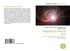 Capa do livro de Geographical Index of Toril