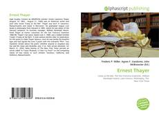Bookcover of Ernest Thayer