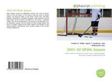 Обложка 2001–02 OPJHL Season