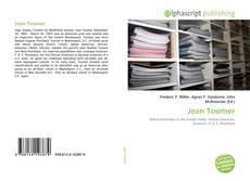 Jean Toomer的封面