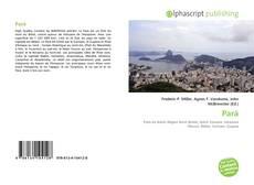 Обложка Pará
