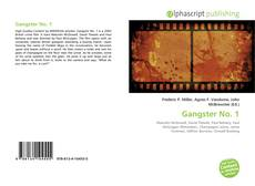Bookcover of Gangster No. 1