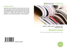 Portada del libro de Dimitris Varos