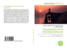 Bookcover of Congregation of the Most Holy Redeemer