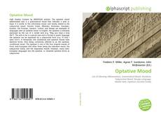 Bookcover of Optative Mood