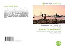 Capa do livro de District Fédéral (Brésil)