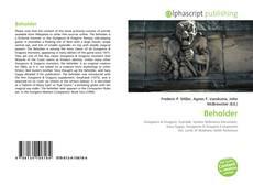 Bookcover of Beholder