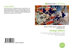 Bookcover of Foreign Affairs