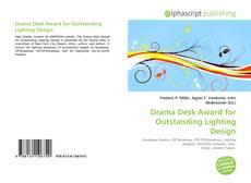 Portada del libro de Drama Desk Award for Outstanding Lighting Design