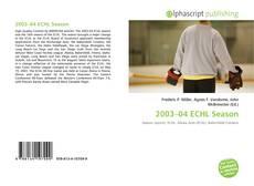 Capa do livro de 2003–04 ECHL Season
