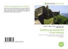 Buchcover von Geoffrey de Mandeville (11th century)