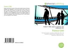Buchcover von Franco Citti